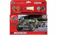 Airfix A55117 Small Starter Set - Willys MB Jeep Kit
