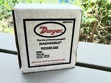 """New listing Dwyer Magnehelic Differential Pressure Gauge 0-.25"""" of Water H20 Model 2000-00Av"""