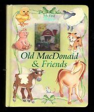 My First Treasury:  Old MacDonald & Friends - Padded Board Book - NEW - MINT