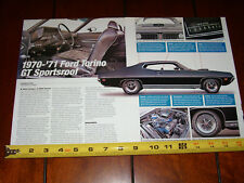 1970 - 1971 FORD TORINO GT - ORIGINAL 2007 ARTICLE