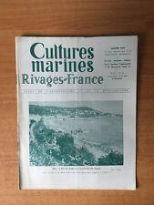 CULTURES MARINES RIVAGES DE FRANCE n° 83 : Nice : la baie des anges et