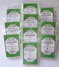 1.000 docsmagic. de Standard American Board Game Sleeves - 10 Packs - 57 x 89-U
