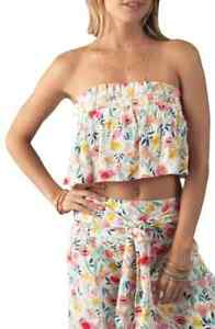 RIP CURL Nordstrom MEADOWBROOK TUBE TOP size L