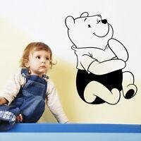 Winnie the Pooh Wall Decal Bear Vinyl Sticker Art  Home Decor Nursery Kid Room