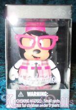"""Disney Vinylmation 3"""" Favorites Nerd Minnie New in Box!"""