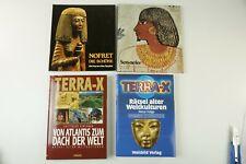4 x Bücher über fremde Kulturen 2 x Terra X Sen-nefer Nofret die Schöne  M-2747