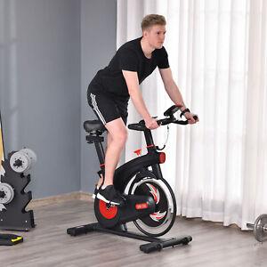 Upright Exercise Bike Trainer with Adjustable Resistance Seat Racing Bike Handle