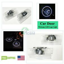 2xCree LED Door Courtesy Ghost Shadow Projector Laser Light for Lexus 2007-2018