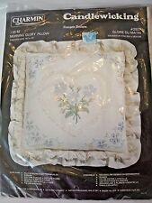 Charmin Candlewicking #05-82, Morning Glory Pillow Kit, New In Package