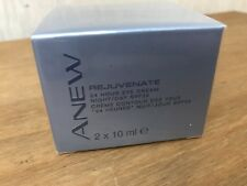 2 Pots Avon Anew Rejuvenate 24 Hour Eye Cream 2 x 10ml (each pot) New and Sealed