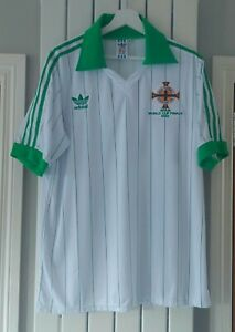Northern Ireland retro Adidas World Cup Spain 1982 Away Football shirt