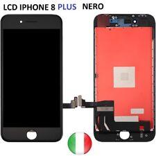 TOUCH SCREEN+LCD DISPLAY RETINA + FRAME PER APPLE IPHONE 8 PLUS NERO