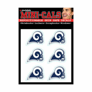 Wincraft 6-Pack Face Mini Cals 3cm - NFL Los Angeles Rams