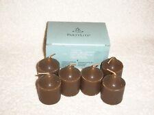 Partylite Coconut Milk Chocolate Votives -- RETIRED
