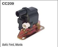 Fuelmiser Ignition Coil CC209 fits Ford Courier 2.0 (PC), 2.6 4x4 (PC), 2.6 4...