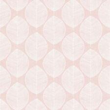 ROSA Scandi Hoja Papel Pintado - Arthouse 908200