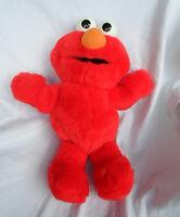 """Tyco Tickle Me Elmo 17"""" Sesame Street Plush Toy Stuffed Animal"""