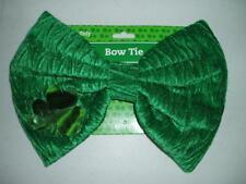 St. Patricks Day Green Leprechaun Costume Large Plush Bowtie Bow Tie