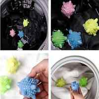 4 pcs ECO Washing Helper Laundry Dryer Ball Fabric Softener Cloth Cleaning Ball
