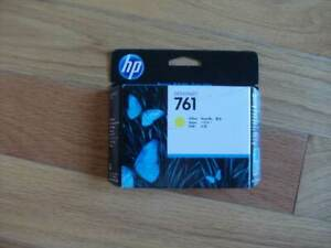 2020 GENUINE HP #761 Yellow Printhead CH645A DESIGNJET T7100 FACTORY SEALED