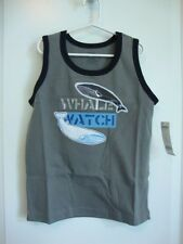 Gymboree SHARK REEF Gray Whale Tank Top Boy Size 7 NWT - Spring Summer