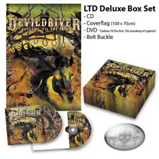DevilDriver Outlaws 'Til The End Vol. 1 box set with cd dvd belt buckle flag