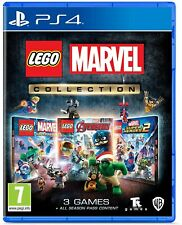 Lego Marvel Collection-ps4 PlayStation 4-nuevo-Super Heroes 1+2 Avengers
