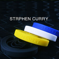Curry Silicone Bracelet Rubber Basketball Celebrity Sport Wristband Cuff Bangle