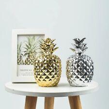 Keramik Ananas Figuren Deko Obst Ornament Handwerk Home Office Decor