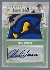 2011 ITG In The Game Adam Warren Auto Patch New York Yankees