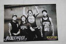PIERCE THE VEIL COLOUR BAND PHOTO POSTER PRINT OFFICIAL ROCKSTAR ENERGY DRINK
