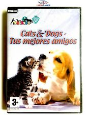 Cats & Dogs Mejores Amigos PC Nuevo Precintado Retro Videogame New SPA Sealed