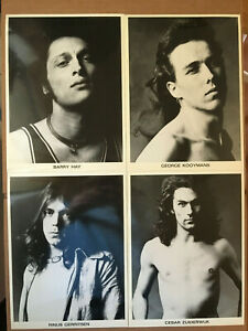 Golden Earring, set of 4 lot, original vintage press headshot photos