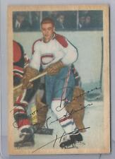 1953-54 Parkhurst Hockey Boom Boom Geoffrion Card # 29 Very Good Condition