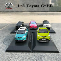 Original 1:43 Scale TOYOTA C-HR CHR Collectible Diecast Car Model Toy Vehicles
