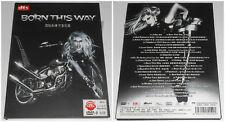 LADY GAGA BORN THIS WAY DVD HD  2011 (STAMPA CINESE)