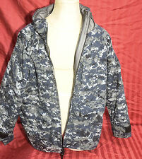 Us Navy Nwu Digital Camouflage Gore-tex Parka Jacket Medium Reg