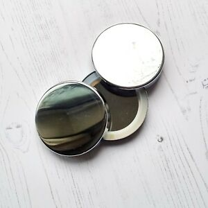 x10 Silver Candle Lid For 20cl w/ Silicone Insert Loose in box Free Postage