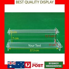 2 Tier 37cm shelf Acrylic Perspex Cosmetic Display Stand case figure model Funko