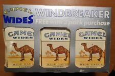 Vintage Joe CAMEL Wides tyvek Windbreaker, complete package less tobacco