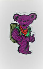 """3"""" Hitch Hiking Dancing Bear patch embroidered iron on patches Grateful dead"""