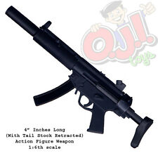 Dragon Models HK MP5SD Silencer & Active Stock for 12 Inch Figures 1:6 (3132g41)