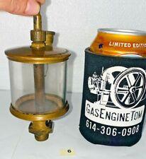 Michigan Lubricator 495 Brass Cylinder Oiler Hit Miss Engine Steampunk Antique