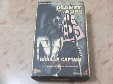Hot Toys MMS 89 Planet of the Apes Gorilla Captain 12 inch Action Figure NEW