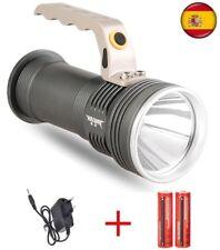 Linterna LED recargable camping vigilancia 18650 led q5 cree cargador