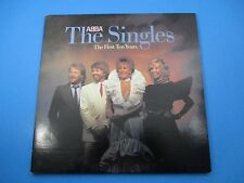 ABBA The Singles The First Ten Years Double Album LP Vinyl 1982 Atlantic