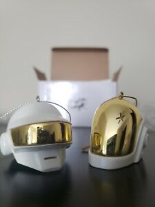 *VERY RARE* Daft Punk Limited Edition Ornament Set White Christmas