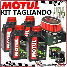 KIT TAGLIANDO 4LT OLIO MOTUL 5100 + FILTRO ARIA/OLIO HONDA AFRICA TWIN 750 93-02