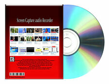Desktop Laptop YouTube to MP3 recorder Voice Screen Capture Windows 7, 8 CDROM