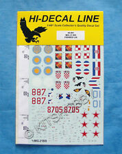 Hi-Decal 1/48 MIKOYAN MiG-21 bis Fishbed (48001) Decal
